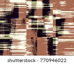 abstract grunge vector... | Shutterstock .eps vector #770946022