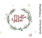 happy new year | Shutterstock .eps vector #770968966