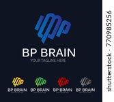 modern brain logo | Shutterstock .eps vector #770985256