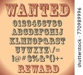 special font in vector   Shutterstock .eps vector #770989996