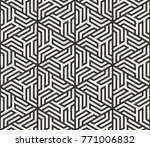 vector seamless lines pattern.... | Shutterstock .eps vector #771006832