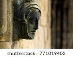 Stone Carving On The Exterior...