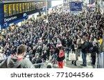 london  december  2017  a very... | Shutterstock . vector #771044566