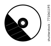 cd rom icon image   Shutterstock .eps vector #771061195