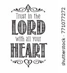 christian vector biblical... | Shutterstock .eps vector #771077272