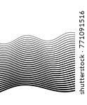 white black color. linear... | Shutterstock .eps vector #771091516