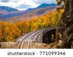 frankenstein trestle and the... | Shutterstock . vector #771099346