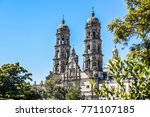 monuments of basilica of... | Shutterstock . vector #771107185