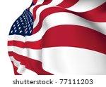 united states of america vector ...   Shutterstock .eps vector #77111203