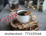 holidays christmas and new year ... | Shutterstock . vector #771135166