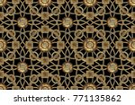 background of geometric shapes. ... | Shutterstock . vector #771135862