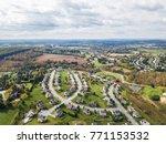 new neighborhood in redlion ... | Shutterstock . vector #771153532
