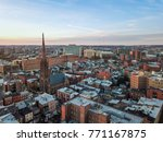 aerial of downtown baltimore ... | Shutterstock . vector #771167875
