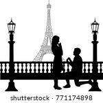 Romantic Proposal In Paris In...
