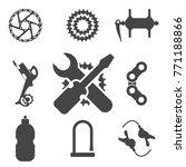 bike parts  accessories  repair ...   Shutterstock .eps vector #771188866