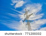 view on one outdoor high... | Shutterstock . vector #771200332