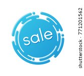 creative sale discount or... | Shutterstock .eps vector #771201562