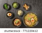 ramen  set of typical japanese... | Shutterstock . vector #771220612