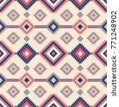 native pattern vector | Shutterstock .eps vector #771248902