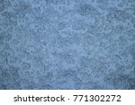 snow piling on the window glass ...   Shutterstock . vector #771302272