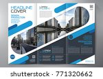 business brochure. flyer design.... | Shutterstock .eps vector #771320662