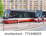 prague  czech republic   may 7  ... | Shutterstock . vector #771348055