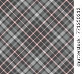 shadow plaid pattern. checkered ... | Shutterstock .eps vector #771350212