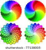 Circular Pattern Set  Vector...