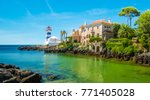 scenic view in cascais  santa... | Shutterstock . vector #771405028