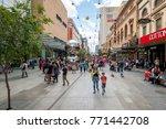 adelaide  australia   november... | Shutterstock . vector #771442708
