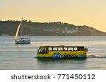 lisbon  portugal   october 29 ... | Shutterstock . vector #771450112