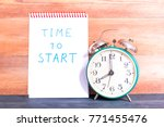 vintage alarm clock and...   Shutterstock . vector #771455476