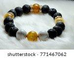 lucky bracelet with various...   Shutterstock . vector #771467062