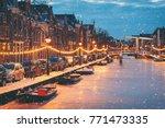 Winter Scene In Alkmaar...