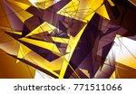beautiful gold illustration...   Shutterstock . vector #771511066