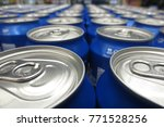 soda and beer cans | Shutterstock . vector #771528256