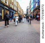 london  uk   circa june 2017 ... | Shutterstock . vector #771558772