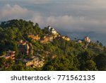 Sunrise In Nagarkot In The...