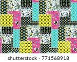 indian paisley pattern | Shutterstock . vector #771568918