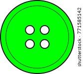 Shirt Button Lime Green