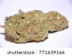 amnesia haze is a sativa... | Shutterstock . vector #771639166