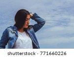 fashion woman.    Shutterstock . vector #771660226