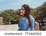 fashion woman.    Shutterstock . vector #771660262