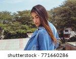 fashion woman.    Shutterstock . vector #771660286
