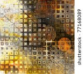 Art Abstract Geometric Grunge...