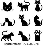 Domestic Cat Icons