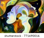 stained glass forever series.... | Shutterstock . vector #771690016