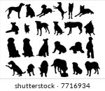 dog | Shutterstock .eps vector #7716934
