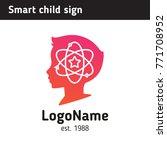 logo for children's educational ... | Shutterstock .eps vector #771708952