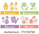 january  february  march and